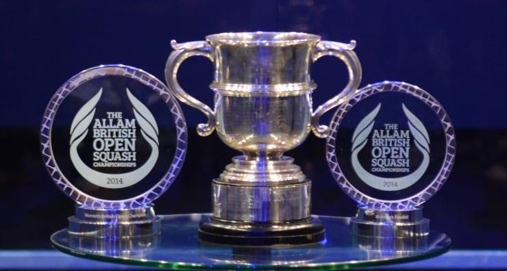 Squash Trophy British Open