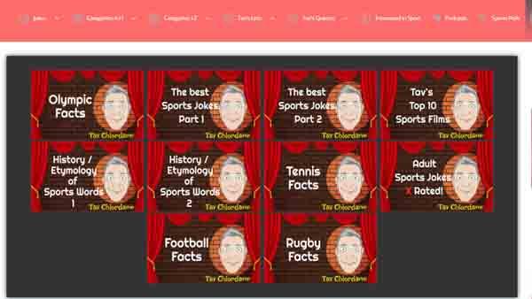 Tav Chlordane Interested in Sport YouTube channel