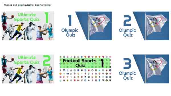 Olympic Sports Quizzes